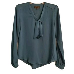 Mossimo ladies blouse in turquoise - XS
